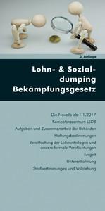 Lohn- & Sozialdumping-Bekämpfungsgesetz (Ausgab...