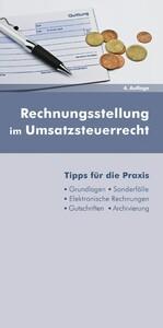 Rechnungsstellung im Umsatzsteuerrecht (Ausgabe...