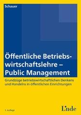 Öffentliche Betriebswirtschaftslehre - Public M...