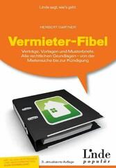 Vermieter-Fibel - Verträge, Vorlagen und Muster...
