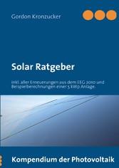 Solar Ratgeber - Kompendium der Photovoltaik