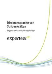 Direktansprache von Spitzenkräften - Expertenwi...