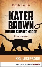 XXL-Leseprobe: Kater Brown und die Klostermorde...