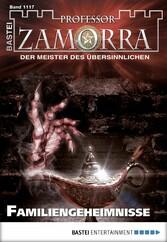 Professor Zamorra - Folge 1117 - Familiengeheimnisse