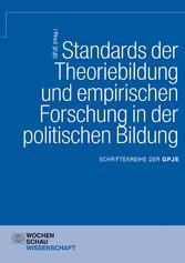 Standards der Theoriebildung und empirischen Fo...