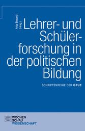 Lehrer- und Schülerforschung in der politischen...