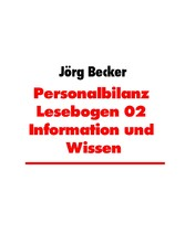 Personalbilanz Lesebogen 02 Information und Wis...
