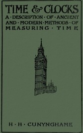 Time and Clocks - A Description of Ancient ans ...