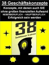38 Geniale Geschäftskonzepte - Konzepte, mit de...