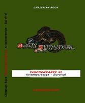 TASCHENKARTE XL Krisenvorsorge - Survival - Kri...