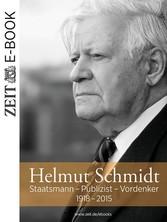 Helmut Schmidt - Staatsmann - Publizist - Vorde...
