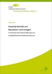 Stand-by-Betrieb von Maschinen und Anlagen - En...