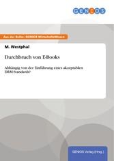 Durchbruch von E-Books - Abhängig von der Einfü...