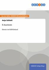 E-Auctions - Einsatz im B2B-Einkauf