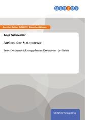 Ausbau der Stromnetze - Erster Netzentwicklungs...
