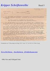 Kripper Schriftenreihe Band 5 - Geschichten, An...