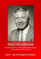 Hans Häusermann - Schweizer Pionier in der Unte...