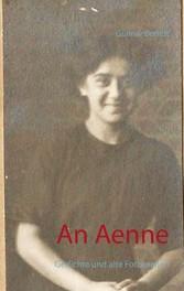 An Aenne - Gedichte und alte Fotografien