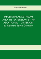 Impulse Balance Theory and its Extension by an Additional Criterion