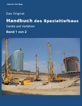 Das Original Handbuch des Spezialtiefbaus Gerät...