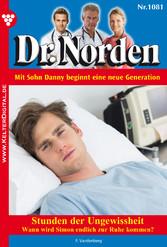 Dr. Norden 1081 - Arztroman - Stunden der Ungewissheit