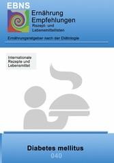Ernährung bei Diabetes mellitus - Diätik - Stof...