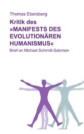Kritik des Manifests des evolutionären Humanism...