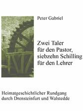 Zwei Taler für den Pastor, siebzehn Schilling f...