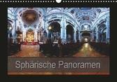 Kalender zum Selberdrucken - Sphärische Panoramen 2017 - DIN A4 Querformat-Kalender mit deutschen Feiertagen