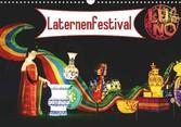 Kalender zum Selberdrucken - Laternenfestival 2017 - DIN A4 Querformat-Kalender mit deutschen Feiertagen