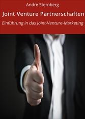 Joint Venture Partnerschaften - Einführung in d...