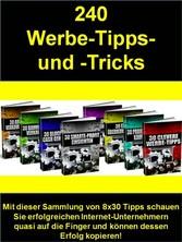 240 Werbe-Tipps- und -Tricks - Mit dieser Samml...