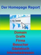 Der Homepage Report - Domain - Grafik - Firma -...