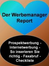 Der Werbemanager Report - Prospektwerbung - Int...