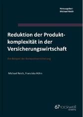 Reduktion der Produktkomplexität in der Versich...