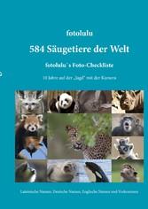584 Säugetiere der Welt - fotolulu's Foto-...