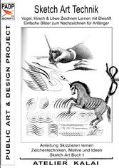 PADP-Script 11: Sketch Art Technik - Vogel, Hir...