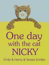 One day with the cat Nicky - English picture bo...