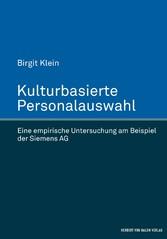 Kulturbasierte Personalauswahl - Eine empirisch...