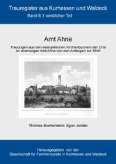 Amt Ahne - Teil 1: Westlicher Teil