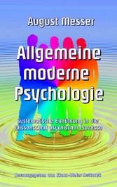 Allgemeine moderne Psychologie - Systematische ...