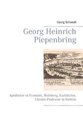 Georg Heinrich Piepenbring - Apotheker in Pyrmo...