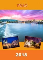 Kalender zum Selberdrucken - Prag 2018 - DIN A4...