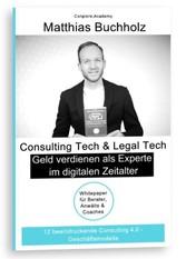 Consulting Tech & Legal Tech - Geld verdienen a...