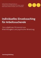 Individuelles Einzelcoaching für Arbeitssuchend...