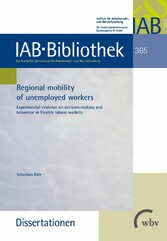 Regional mobility of unemployed workers - Exper...