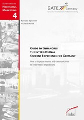Guide To Enhancing The International Student Experience For Germany - How to improve services and communication to better match expectations