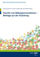 Transfer von Bildungsinnovationen - Beiträge au...
