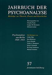 Jahrbuch der Psychoanalyse / Band 57: Psychoana...