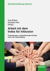 Arbeit mit dem Index für Inklusion - Entwicklun...